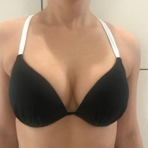 Victoria's Secret Color Block Underwire Bikini Top